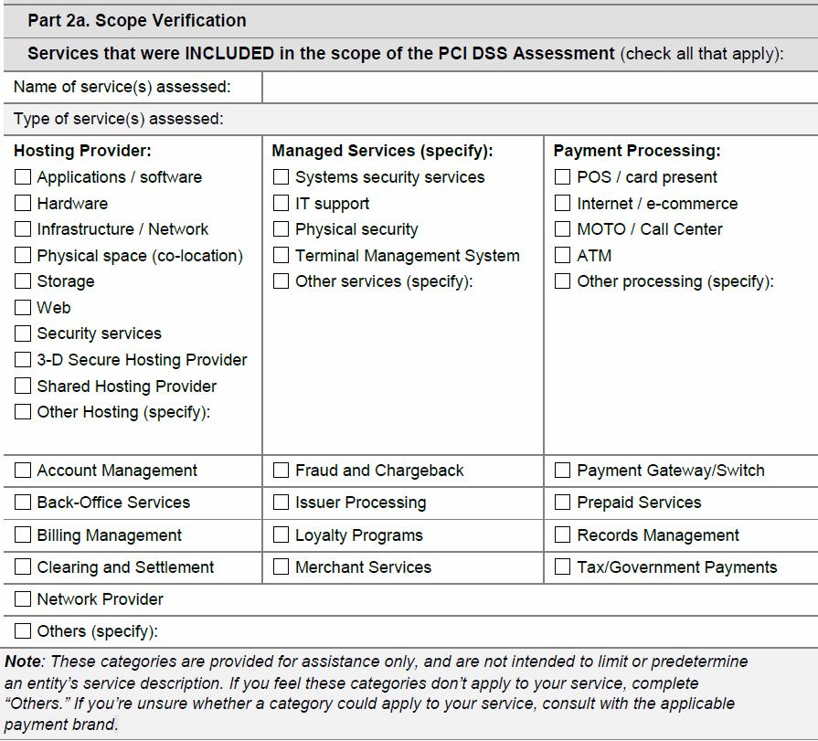 PCI AOC SP Section 2a